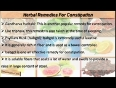 Herbal Remedies For Constipation - The Natural Method