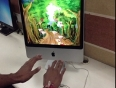 AR Gaming App developed with Leap Motion Technology