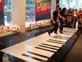 Foot-piano