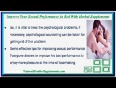 Improve your sexual performance in bed with herbal supplement