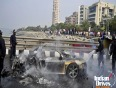 Audi r8 catches fire in london id
