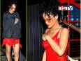 Ones again rihanna show off her nipples....!