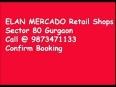 Elan mercdo sector 80 gurgaon call   9873471133