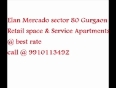 Elan Mercado new Commercial projects 9910113492 food court bookings