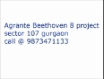 Agrante Beethoven 8 gurgaon sector 107 book here for details