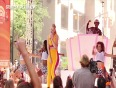 Rapper Iggy Azalea Performs At The NBC Today Show In New York