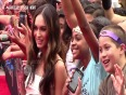 VIDEO Megan Fox Dance At Teenage Mutant Ninja Turtles Premiere FUNNY
