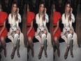 Kim Kardashian Cleavage And Paparazzi Chaos