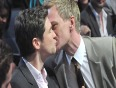 Celebrity Gay Couples KISSING Act - Famous Gay Couples