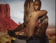 Sexy Kim Kardashian Topless With Kanye West In Bound 2 Music Video.