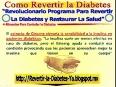 [ como revertir la diabetes ] [como curar la diabetes ]