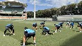 WATCH: Team India indulge in 'Fun drill' before nets