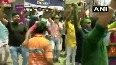 TMC supporters celebrate at Kalighat as the party leads
