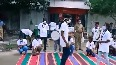 Street play on Covid-19 awareness by Plant Trust