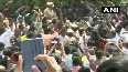 Hyderabad People celebrate for police