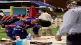 SEE: Rohit walks out to bat