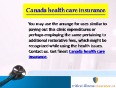 Finest canadian health insurance providers