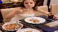 Ameesha Patel the foodie