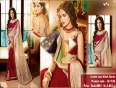 Get ready to dazzle with designer lace,zari _ stone work party wear sarees
