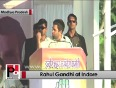 Rahul Gandhi in Indore: People have big dreams, they just need support from the govt