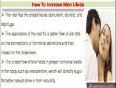 How To Improve Male Sex Drive, Increase Men Libido Quickly And Naturally