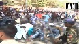 Video: Pune police lathi charge differently abled people