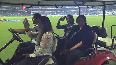 Watch: Cricket legends take lap of honour at Eden Gardens!