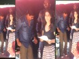 Shahrukh and Kajol together on sets of Dilwale
