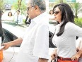 Sridevis Revealing Pants Covered By Boney Kapoor