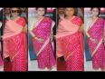 Aishwarya and Jaya Bachchan spotted in the same saree