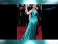 Aishwarya Rai Bachchan In Blue GUCCI GOWN at Cannes 2013