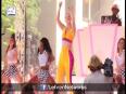 Iggy Azalea Falls Off Stage At MTV VMA Awards Benefit Concert
