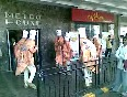 A funny dance outside Metro (mumbai) by some people
