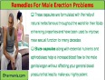 Best Natural Remedies For Male Erection Problems