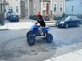 Quad Bike Stunt Ended Badly