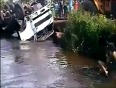 Lucky girls escape accident video