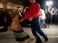 Dancing Dog Entertains Party