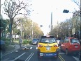 Cyclist barely escapes death video