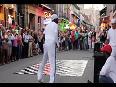 Street Dancers Entertain Crowd