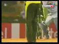 Shahid Afridi Bowls Virender Sehwag
