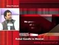 Rahul gandhi in meerut asks bjp where was india shining in 2004