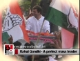 Rahul Gandhi  the young and energetic Congress Vice President