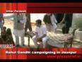 3rd nov. 2011, rahul gandhi campaigning in jaunpur