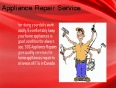 Sufficient appliance repair service Mississauga