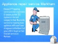 Awesome appliance repair service Whitby