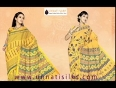 Yellow-uploading-video for more details please visit : www.unnatisilks.com sarees-online by-color-sarees yellow-color-saris.html