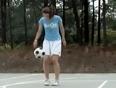 Amazing soccer girl