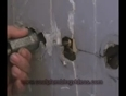 Three handle to two handle tub and shower valve part 2