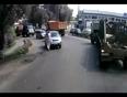 Pedestrian man hit by car video