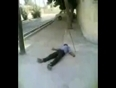 Man electrocuted video